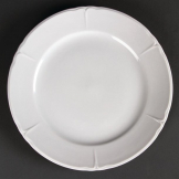 Olympia Rosa Round Plates 250mm (Pack of 12)