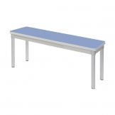 Gopak Enviro Indoor Campanula Blue Dining Bench 3ft