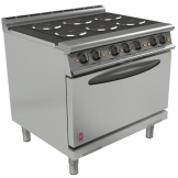 Falcon Dominator Plus 6 Hotplate Oven Range with Drop Down Door E3101D