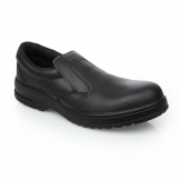 Lites Safety Slip On Black 36