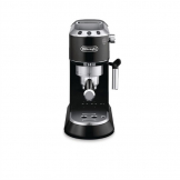 Delonghi Dedica Pump Espresso Coffee Maker with Milk Frother. Black EC685.BK