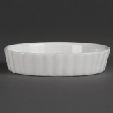 Olympia Whiteware Flan Dishes 112mm (Pack of 6)