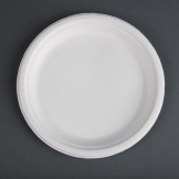Fiesta Green Compostable Bagasse Plates 260mm