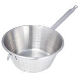 DeBuyer Stainless Steel Conical Colander With Hook 28cm
