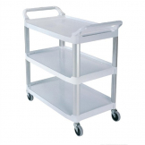 Rubbermaid X-tra Utility Trolley White
