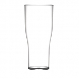 BBP Polycarbonate Nucleated Pint Glasses CE Marked