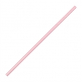 Fiesta Green Compostable Bendy Paper Straws Pink (Pack of 250)