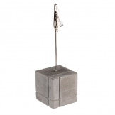 APS Concrete Effect Table Stand Square With Peg (Pack of 4)