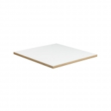 Forza Table Top - White - 700x700x25mm
