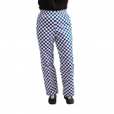 Whites Easyfit Trousers Teflon Big Blue Check S