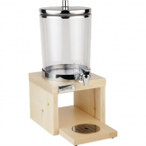 APS Wood Base Juice Dispenser Maple