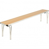 Gopak Contour Stacking Bench Beech Effect 6ft