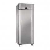 Gram Eco Twin 1 Door 614Ltr Fridge Stainless Steel K 82 CAG C1 4N