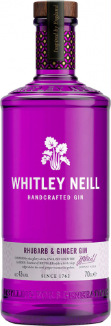 Whitley Neill - Rhubarb And Ginger Gin (70cl Bottle)