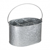 Olympia Galvanised Steel Table Tidy