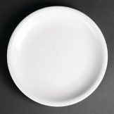 Royal Porcelain Classic White Narrow Rim Plates 210mm (Pack of 12)