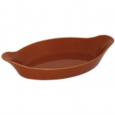 Olympia Mediterranean Oval Eared Dishes Rustic 204 x 118mm (Pack of 6)