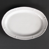 Olympia Rosa Oval Plates 295x 214mm (Pack of 4)