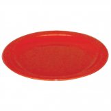 Kristallon Polycarbonate Plates Red 172mm (Pack of 12)