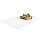 APS Apart Melamine Rectangular Buffet Tray White GN 1/2