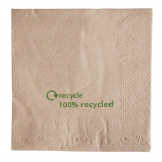 Compostable Kraft Lunch Napkins 330mm (Pack of 2000)