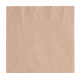 Vegware Compostable Unbleached Lunch Napkins 330mm (Pack of 2000)