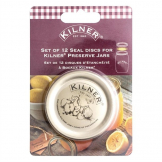 Kilner Screw Top Preserve Jar Spare Seals (Pack of 12)