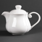 Olympia Rosa Teapots 402ml (Pack of 4)
