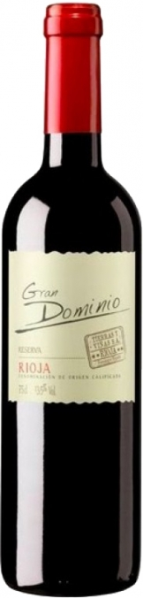 Gran Dominio - Rioja Reserva 2012 (75cl Bottle)