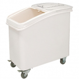 Vogue Polypropylene Ingredient Bin with Scoop 81Ltr