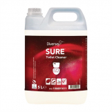 Diversey SURE Toilet Cleaner Ready To Use 5Ltr (2 Pack) (Pack of 2)