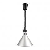 Buffalo Rise & Fall Conical Heat Shade Silver Finish