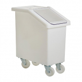 Fletcher Mobile Ingredient Bin 65Ltr White