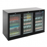 Polar Back Bar Cooler with Hinged Doors 330Ltr