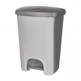 Curver Kitchen Pedal Bin Grey 40Ltr