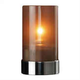 Metro Lamp Metallic Grey (Pack of 6)