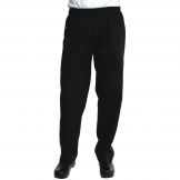 Chef Works Unisex Better Built Baggy Chefs Trousers Black XL