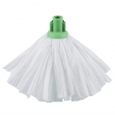 Jantex Standard Big White Socket Mop Head Green