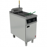 Falcon 400 Series Twin Tank Twin Basket Free Standing Electric Filtration Fryer E422