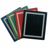 Melamine Black and Silver Rectangular Placemat