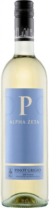 Alpha Zeta - P Pinot Grigio 2019 (75cl Bottle)