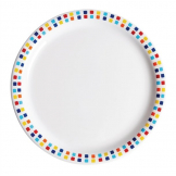 Utopia Spanish Tile Dinner Plates 230mm (Pack of 48)