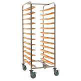Bourgeat Self Clearing Cafeteria Trolley