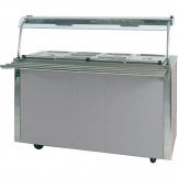 Moffat Versicarte Plus Hot Food Service Counter With Bain Marie VCBM4