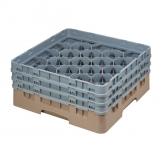 Cambro Camrack Beige 20 Compartments Max Glass Height 174mm