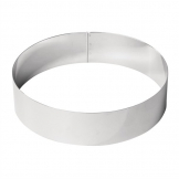 De Buyer Stainless Steel Mousse Ring 240 x 60mm