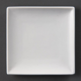 Olympia Whiteware Square Plates 140mm (Pack of 12)