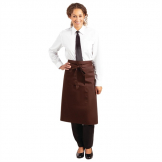 Whites Regular Bistro Apron Chocolate