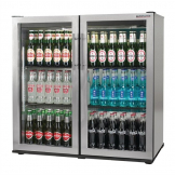 Autonumis Popular Double Hinged Door 3Ft Back Bar Cooler St/St A215182