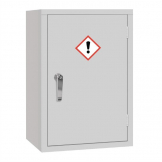 COSHH Cabinet Single Door Grey 10Ltr